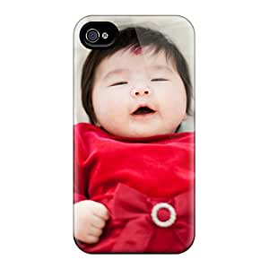 For MattDFarmer Iphone Protective Case, High Quality For Iphone 4/4s Cute Baby Doll Skin Case Cover