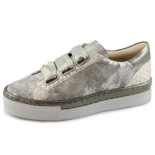 00753 pittone basse caruso Verena Grey Shoes Metallic Donna Marc Sneakers Grigio q7v0A