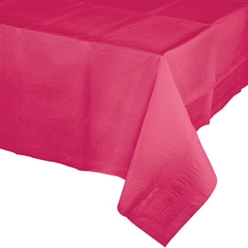 Creative Converting 913277 Celebrations Plastic Table Cover,