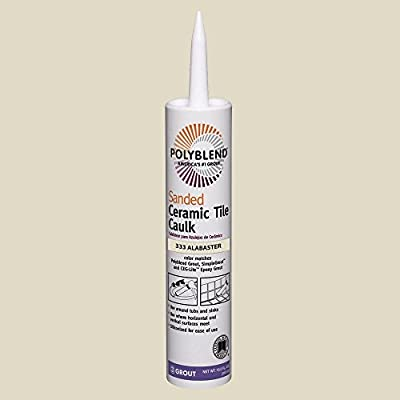 Polyblend #333 Alabaster 10.5 oz. Sanded Ceramic Tile Caulk