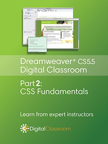 Dreamweaver CS5.5 Digital Classroom Video Series Part 2 - CSS Fundamentals