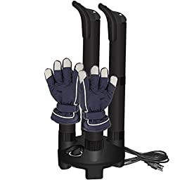 Jobsite Mighty Dry Boot Dryer with Timer and Fan, Use for Shoes & Gloves - Prevent Odor, Mold & Bacteria