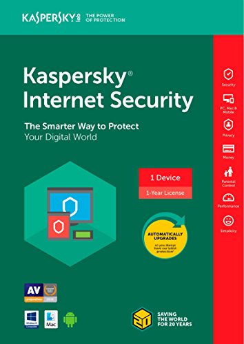 Kaspersky Internet Security 2018 1 Device/1 Year [Key Code]