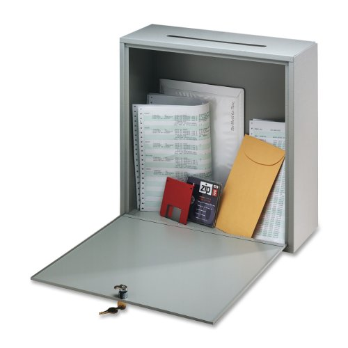 buddy-products-inter-office-mailbox-steel-small-3-x-10-x-12-inches-platinum-5625-32