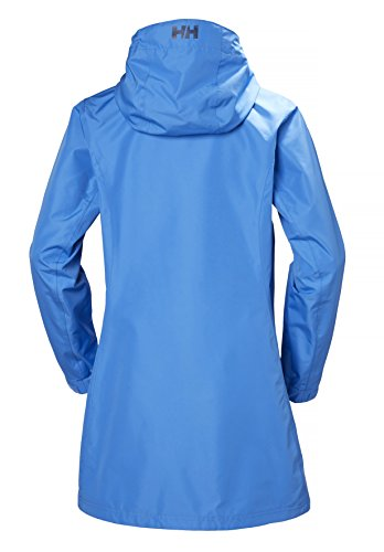 Helly Belfast Water Jacket Long Hansen Blu W FFx7Z8