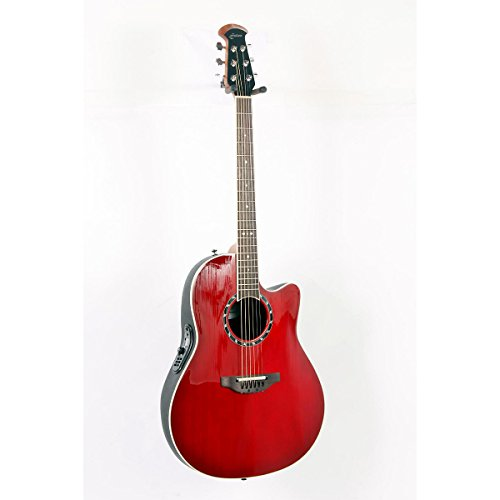 Ovation Standard Balladeer 1771 AX Acoustic-Electric Guitar Cherry Cherry Burst 888365243153