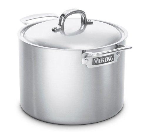Viking VSC0708  8 Quart Stainless Steel Stock Pot