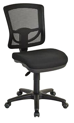 Pro-Line II 2817-30-osp Mesh Back Armless Task Chair, Coal