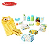 Melissa & Doug Mine to Love Changing & Bath Time Play Set for Dolls...