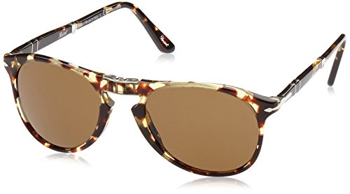 Persol PO9714S 985/57 Tortoise PO9714S Round Sunglasses Polarised Lens Category (Persol 9714)