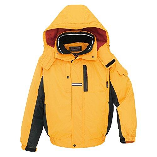 秋冬物 AITOZ アイトス 防寒ブルゾン AZ-6061 019イエロー×ブラック S B00AIBZDUS S|イエロー×ブラック イエロー×ブラック S