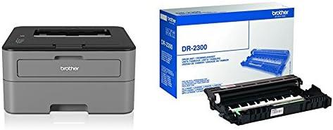 Brother HL-L2300D - Impresora láser monocromo y DR2300 - Tambor ...