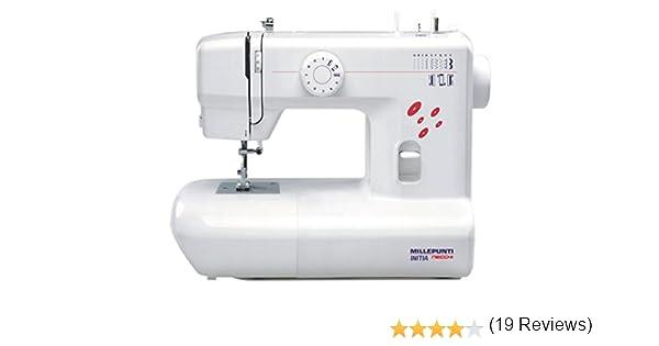 Necchi MA10 - Máquina de coser (Máquina de coser semiautomática ...