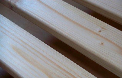 TUGA-Holztech 20mm Rollrost Rolllattenrost 140x210 cm