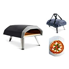 Ooni has revolutionized the portable pizza industry again the the new Ooni Koda gas-fired pizza oven. Take this oven anywhere with the included carry case and cook pizzas on the go. No need to buy a separate gas burner, the Koda comes ready t...