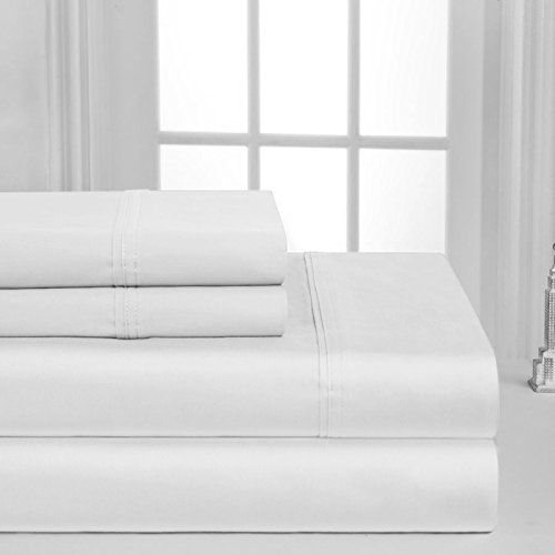 1000 thread count king white - 2