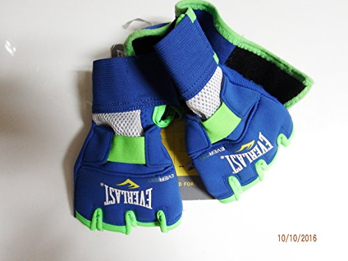 Everlast EverGel Hand Wraps (Blue, Medium)