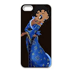 Betty Boop iPhone 4 4s Cell Phone Case White 218y-682704