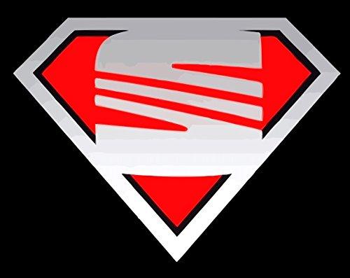 SEAT T SHIRT SUPERMAN CUPRA LEON IBIZA TOLEDO Funshirt Kult -199