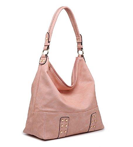 MA36038 Women's Leather Bucket Faux Gold Designer Handbag Ladies Bag Bag Tote Slouch Shoulder nBCP5