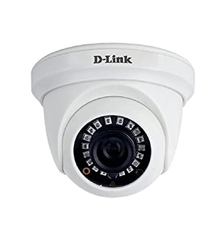 D-Link DCS-F1611 1MP HD Day and Night Fixed Dome Camera (White)