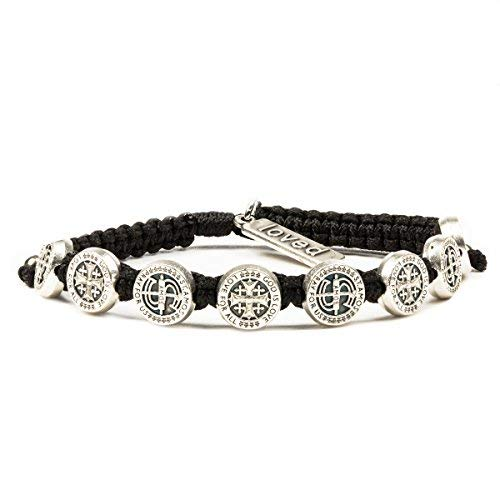 My Saint My Hero Share the Love - St. Amos Bracelet - Black/Silver by My Saint My Hero (Image #5)