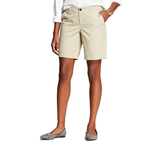 Womens Chino Short Vintage Khaki