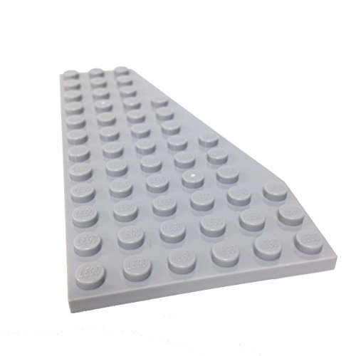 Lego-Parts-Wedge-Plate-6-x-12-Right-LBGray