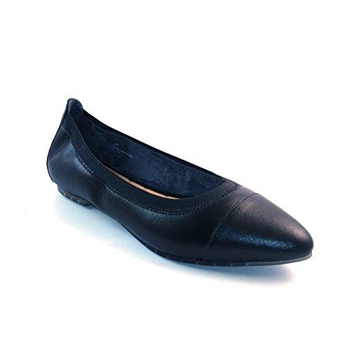 Me Too Womens Arianna Flat Black Tumbled Leather nSUp9pZno