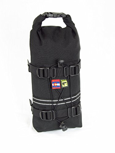 Wolfman Luggage CO105-303 Small Rolie BLACK