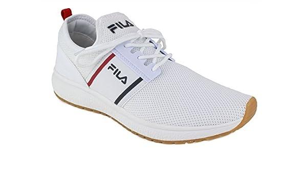 Zapatillas Hombre FILA en Lona Blanca 1010277-1FG: Amazon.es: Zapatos y complementos