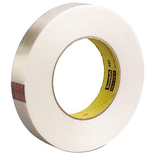 Scotch Filament Tape 898 Clear, 24 mm x 55 m (Pack of 1) from Scotch