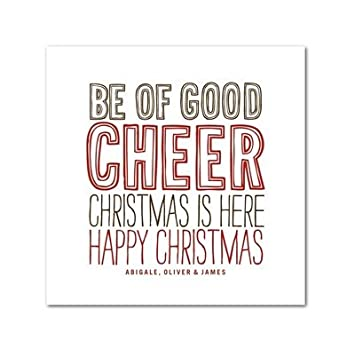 Amazon holiday greeting cards cheerful type by tallu lah holiday greeting cards cheerful type by tallu lah m4hsunfo