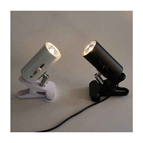Petacc Reptile Heat Lamp Holder Turtle Heat Light Stand Ceramic Pet Basking Light Clip, E27 Socket, 360 Degree Rotation, Black