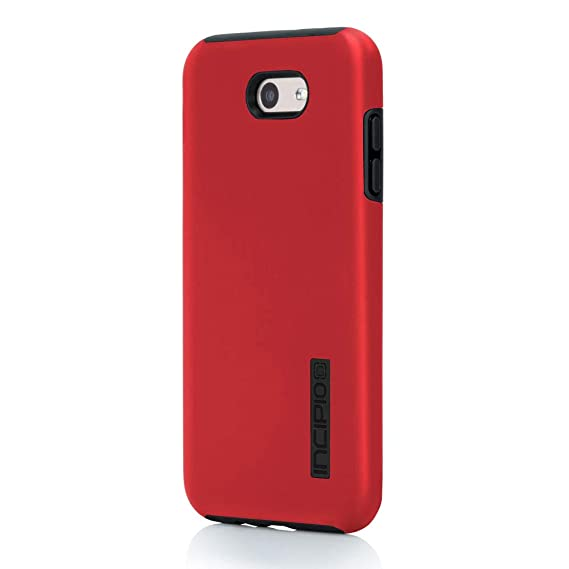 best service dc924 87aed Samsung Galaxy J7 (2017) Case, Incipio [Hard Shell] [Dual Layer] DualPro  Case for Samsung Galaxy J7 (2017)-Iridescent Red/Black