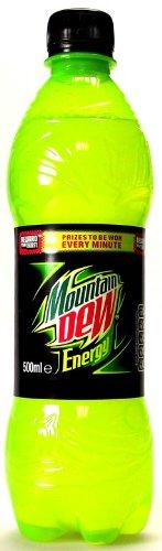 Mountain Dew Energy 500ml x 24