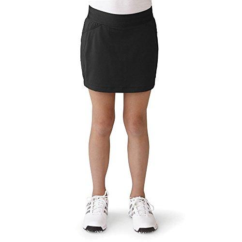 adidas Golf Girls Adistar Range Wear Skort, Black, X-Large