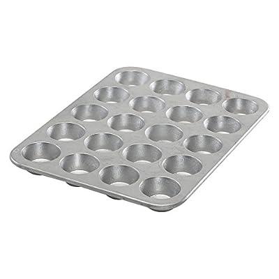 Nordic Ware Natural Bakeware Aluminum 24 Cup Mini Muffin Pan