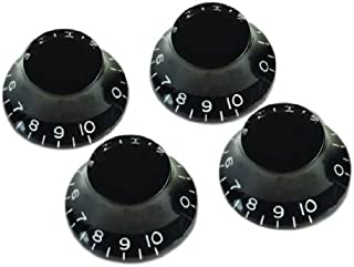 product image for Gibson Top Hat Knobs - 4 Pack, Black