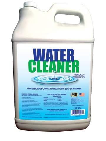 WATER CLEANER 7% PEROXIDE 5 GALLON CASE WITH 2 (2-1/2) GALLON JUGS by WATER CLEANER