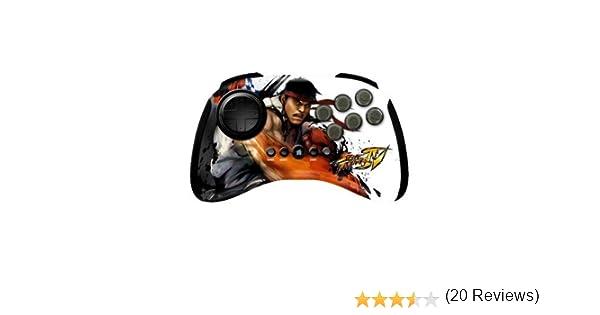 Mad Catz Street Fighter IV FightPad Wireless Ryu Mando Consola ...