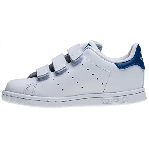 adidas Stan Smith Cf I Bambino Piccolo Formatori White Blue - K8 UK