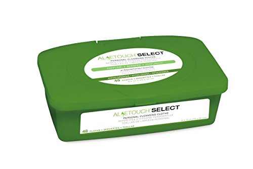 Medline Aloetouch Select Premium Spunlace Personal Cleansing Wipes, 12 Count ()