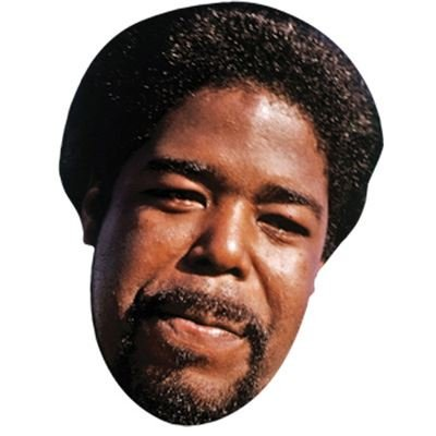 Barry White Celebrity Mask, Card Face and Fancy Dress Mask (Celebrity Face Masks)