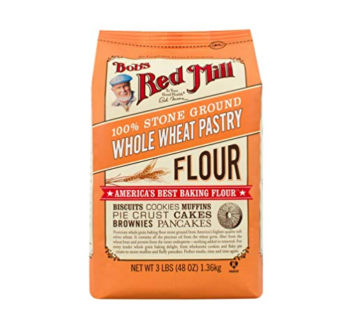 Bob's Red Mill, Pastry Flour, Whole Wheat, 5lb -