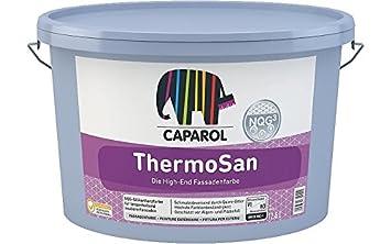 Fassadenfarbe Caparol ThermoSan regen schmutzabweisend 12,5 L weiß ...