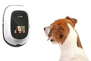 PetChatz Greet & Treat Videophone, White/Black