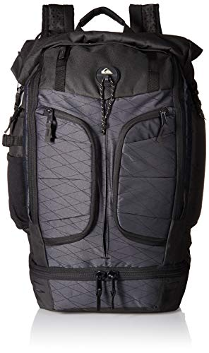 (Quiksilver Men's CAPITAINE BACKPACK, black, 1SZ)