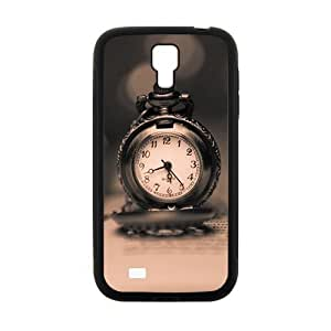 Book With Clock Fashion Personalized Clear Cell Phone Case For Samsung Galaxy S4