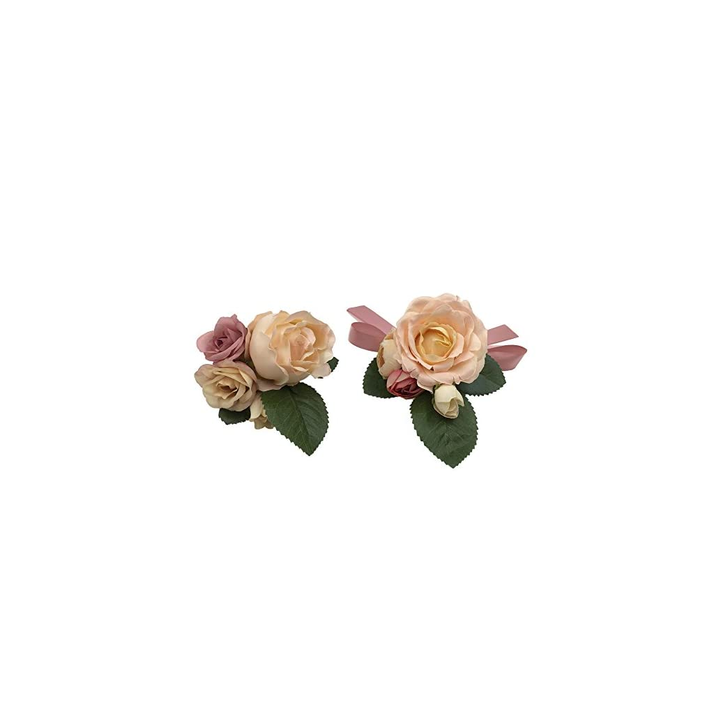 Abbie-Home-Prom-Wrist-Corsage-Brooch-Boutonniere-Set-Wedding-Event-Party-Wristband-Hand-Flower-Dcor